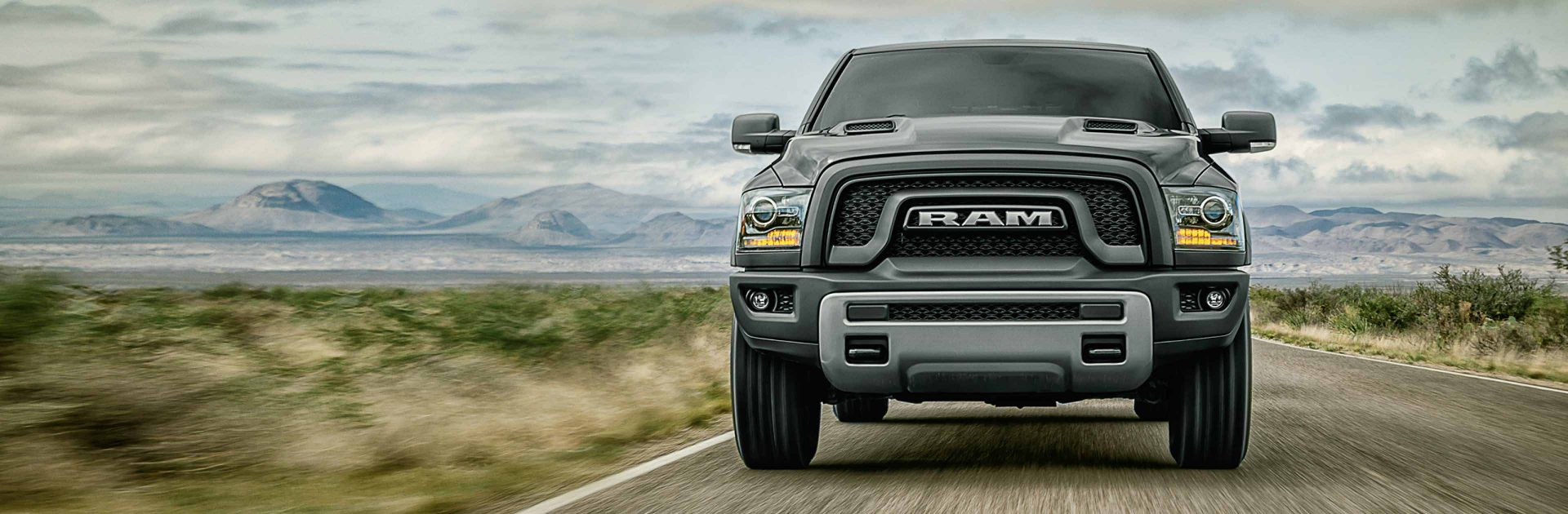 2018 Ram Trucks 1500 Front View Capability