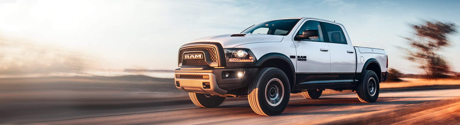 2018 Ram Trucks 1500 Side View Driving