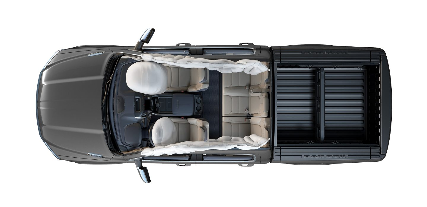 2019 Ram 1500 Airbags