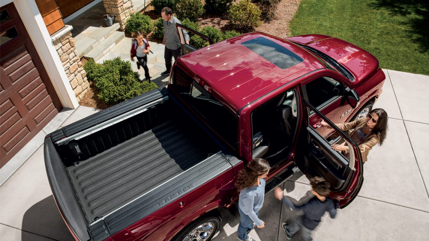 Ram 1500 Safety and Security features